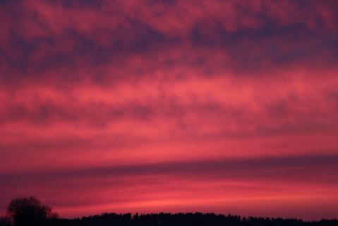spring sunset 2013